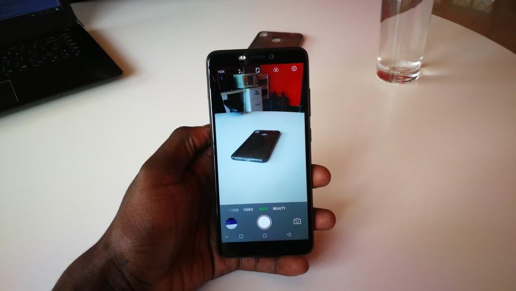 Infinix Hot s3 camera