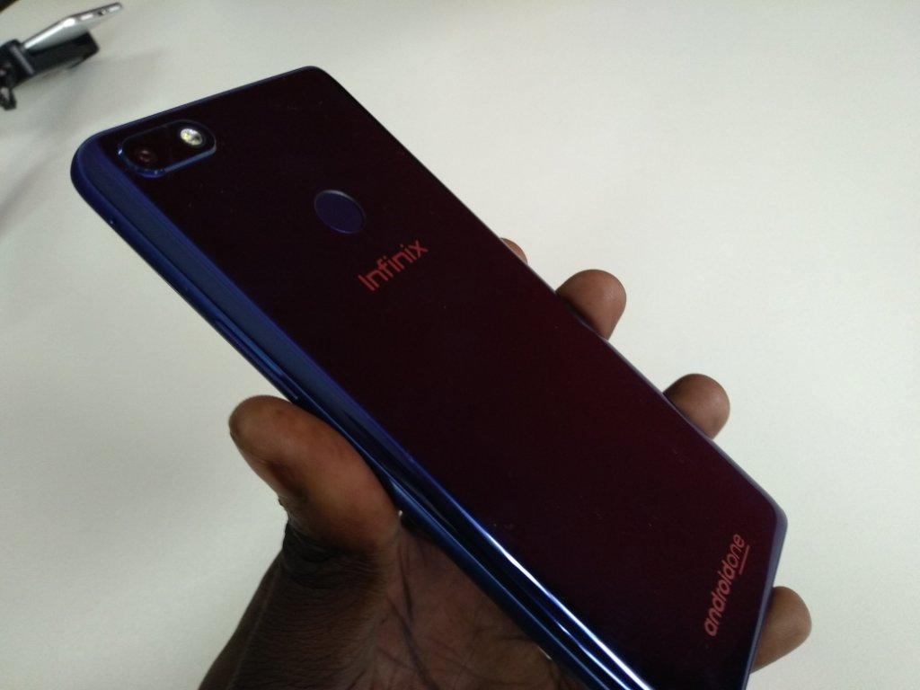 Infinix Note 5 back