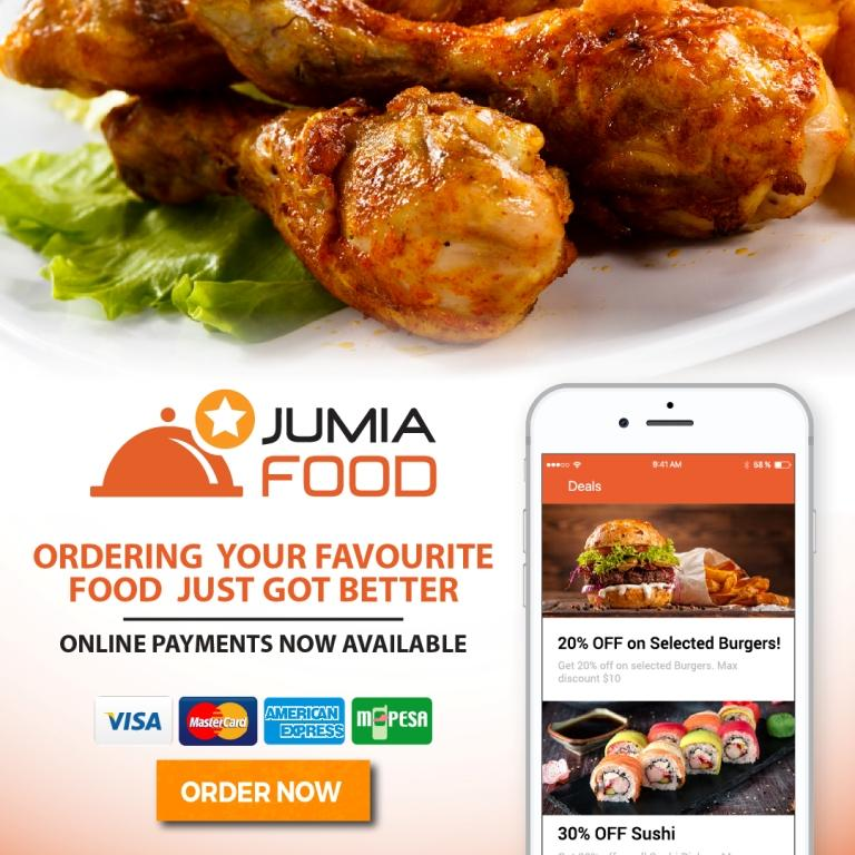 Jumia Food Online Payments