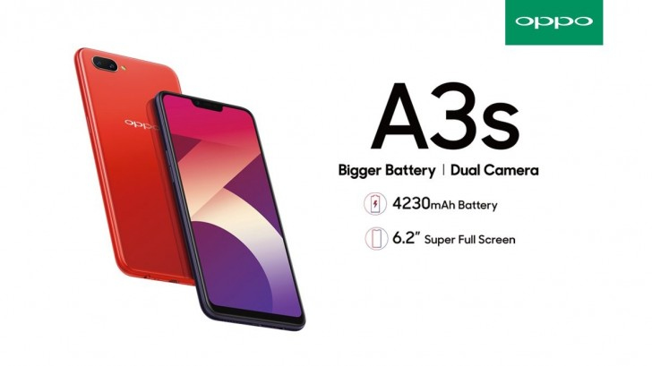 OPPO A3s Specifications and Price in Kenya - TechArena