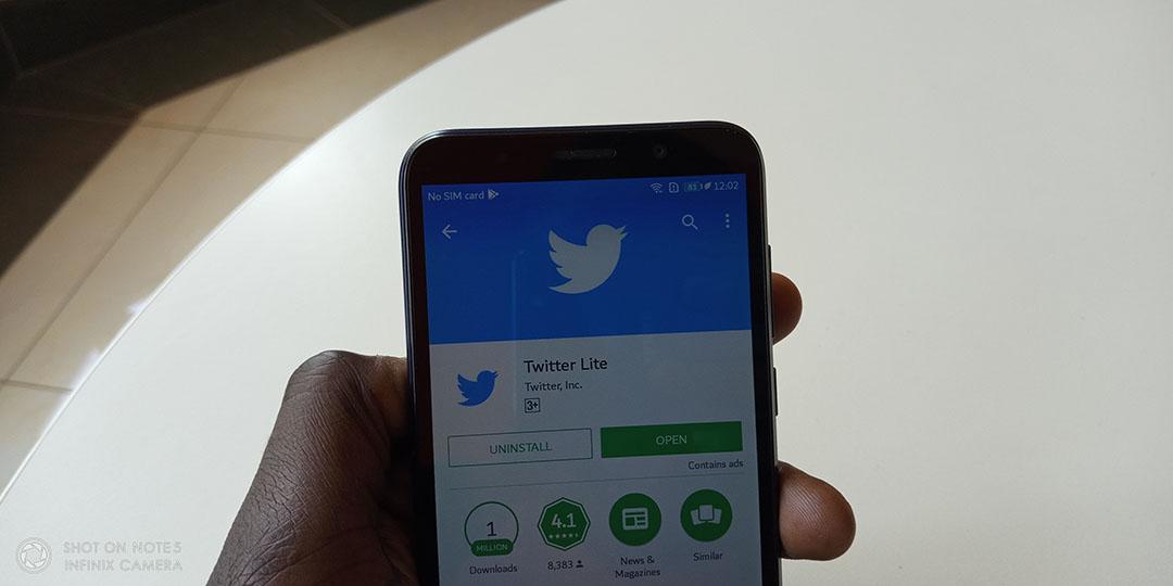 Twitter Lite Kenya