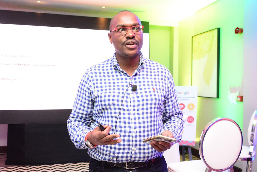 Charles Mutiro (country manager google kenya)