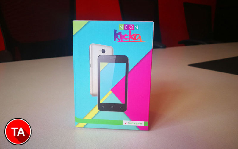 Safaricom Neon Kicka smart 4 box