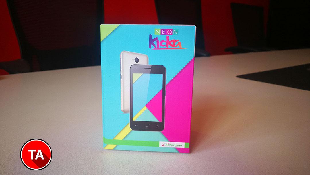 Safaricom Neon Kicka smart 4 box