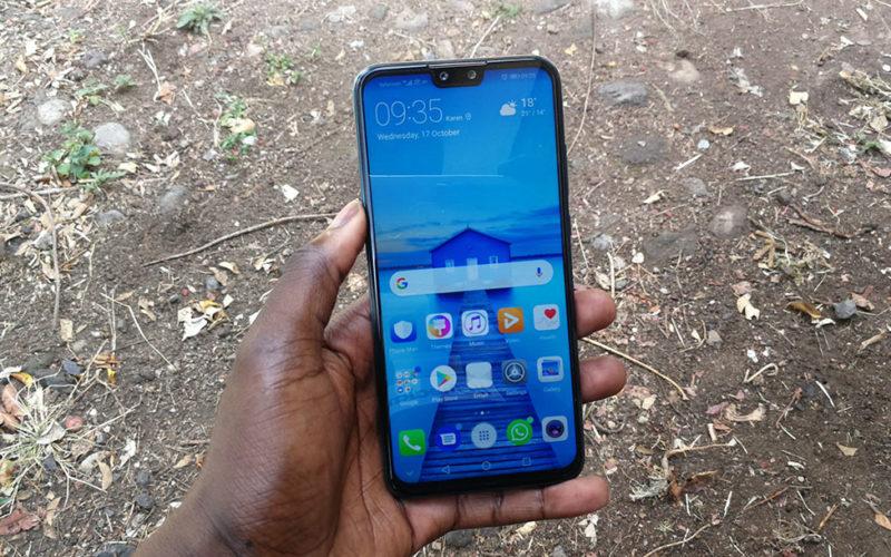 Huawei Y9 2019 Display