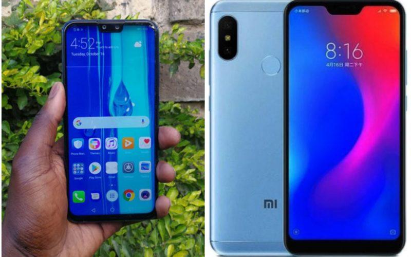 Huawei Y9 2019 Xiaomi Mi A2