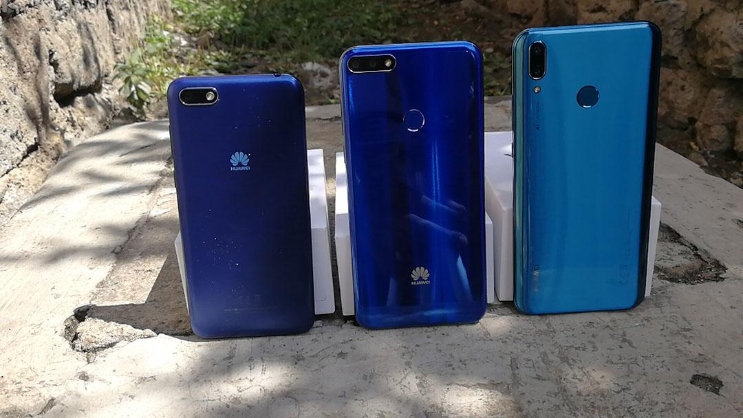 Huawei y series back