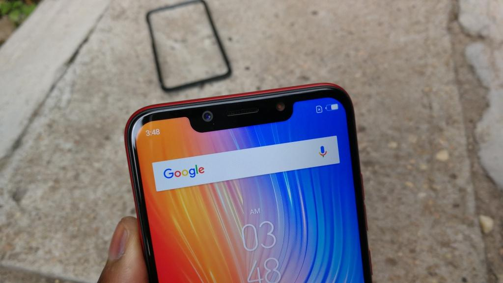 Tecno camon 11 Notch