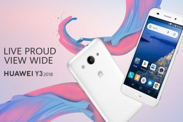 Huawei Y3 2018 in Kenya