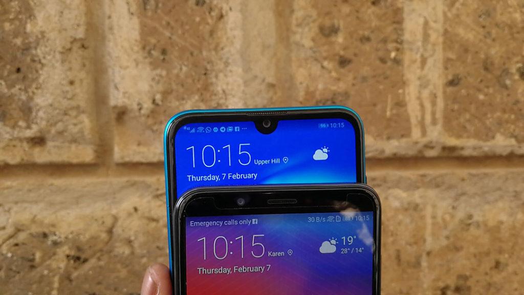 Huawei Y7 Prime 2019 notch