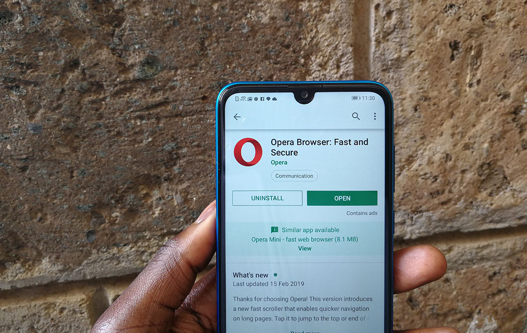 Opera for Android Gets Free and Unlimited VPN Service