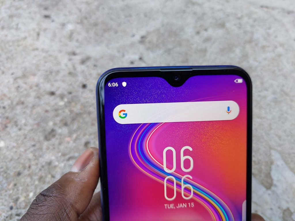 Infinix s4 notch