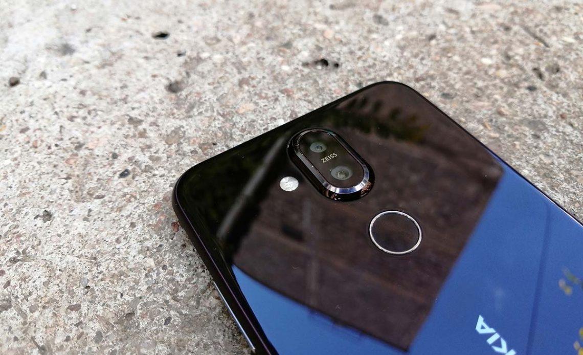 Nokia 8.1 camera