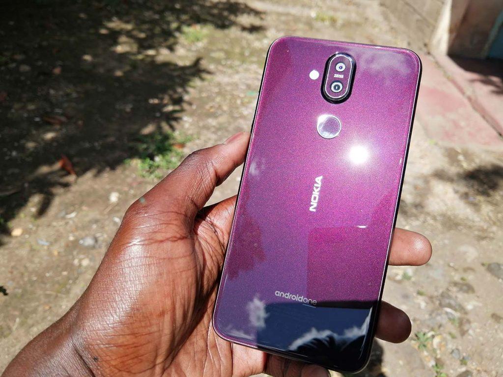 Nokia 8.1 color