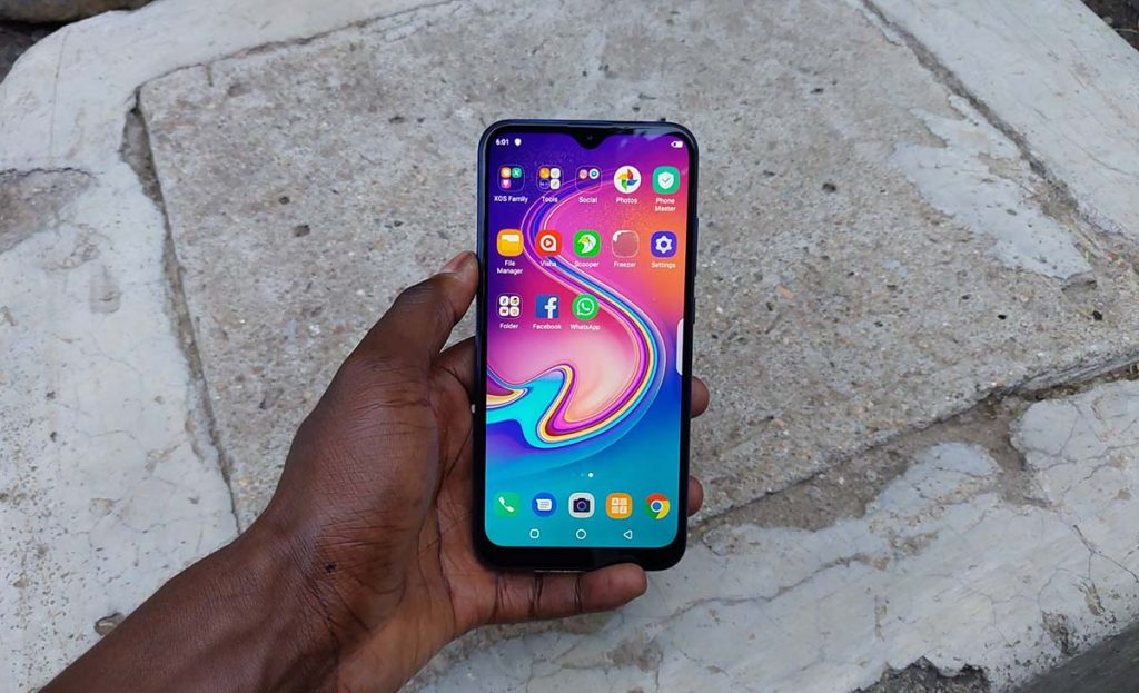 infinix s4 display