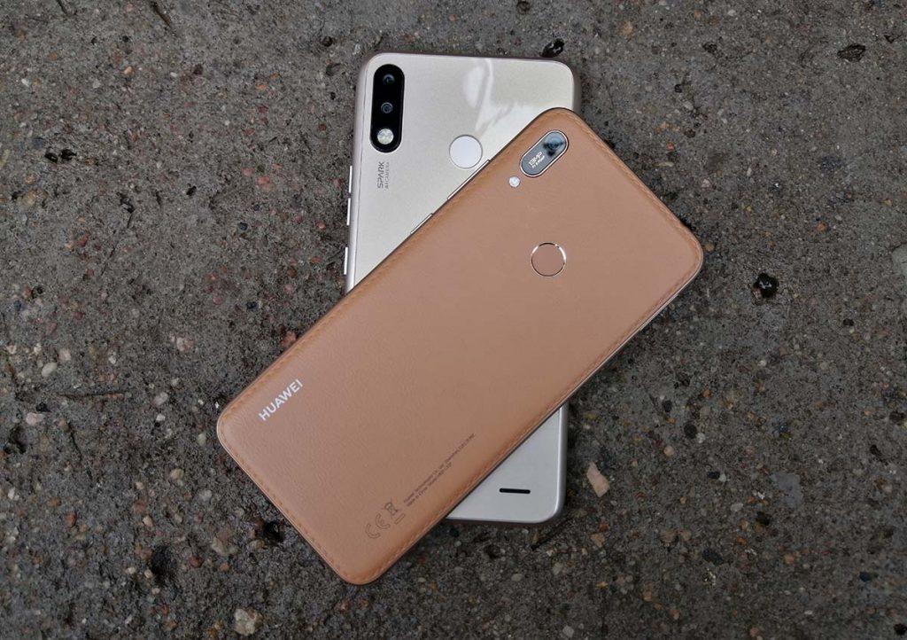 Tecno spark 3 huawei y6 2019 design
