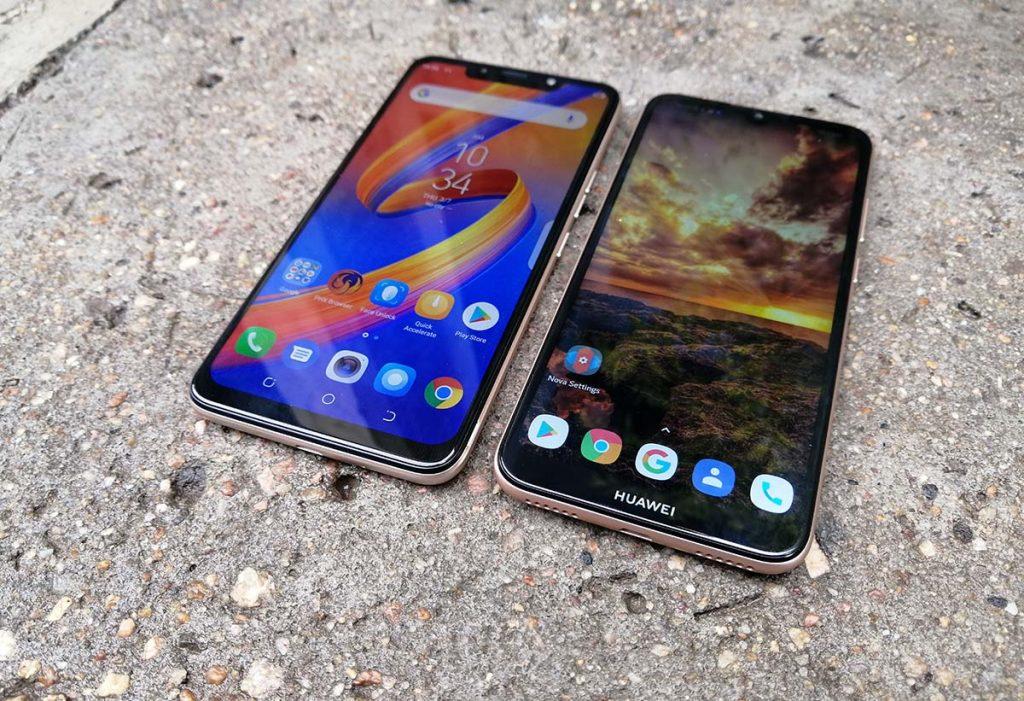 Tecno spark 3 vs Huawei y6 prime 2019