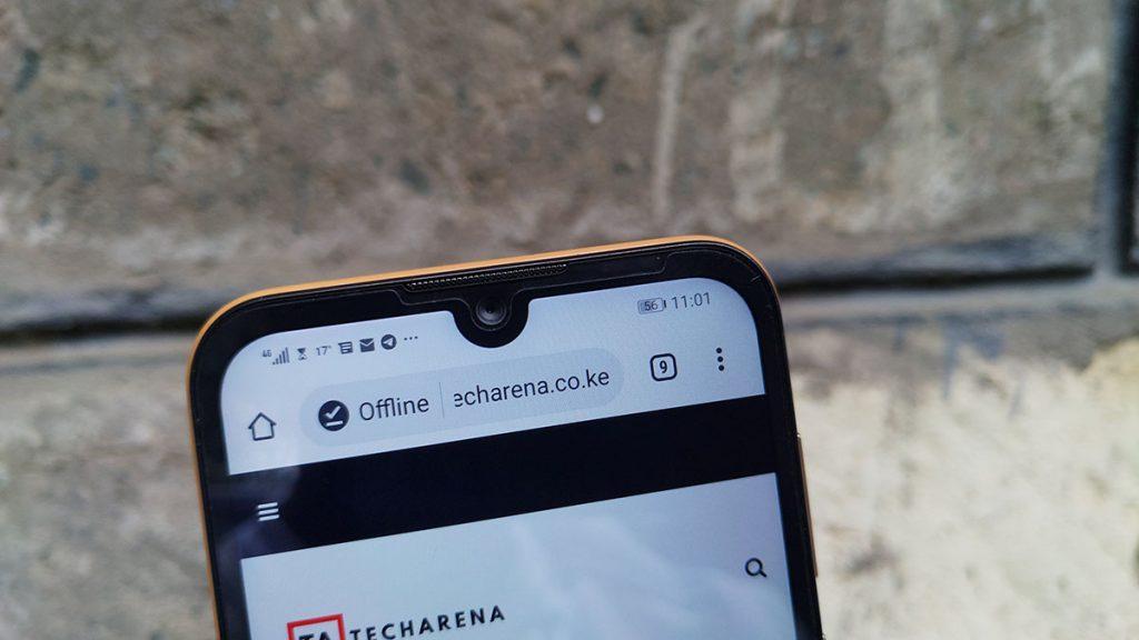Huawei Y5 2019 notch