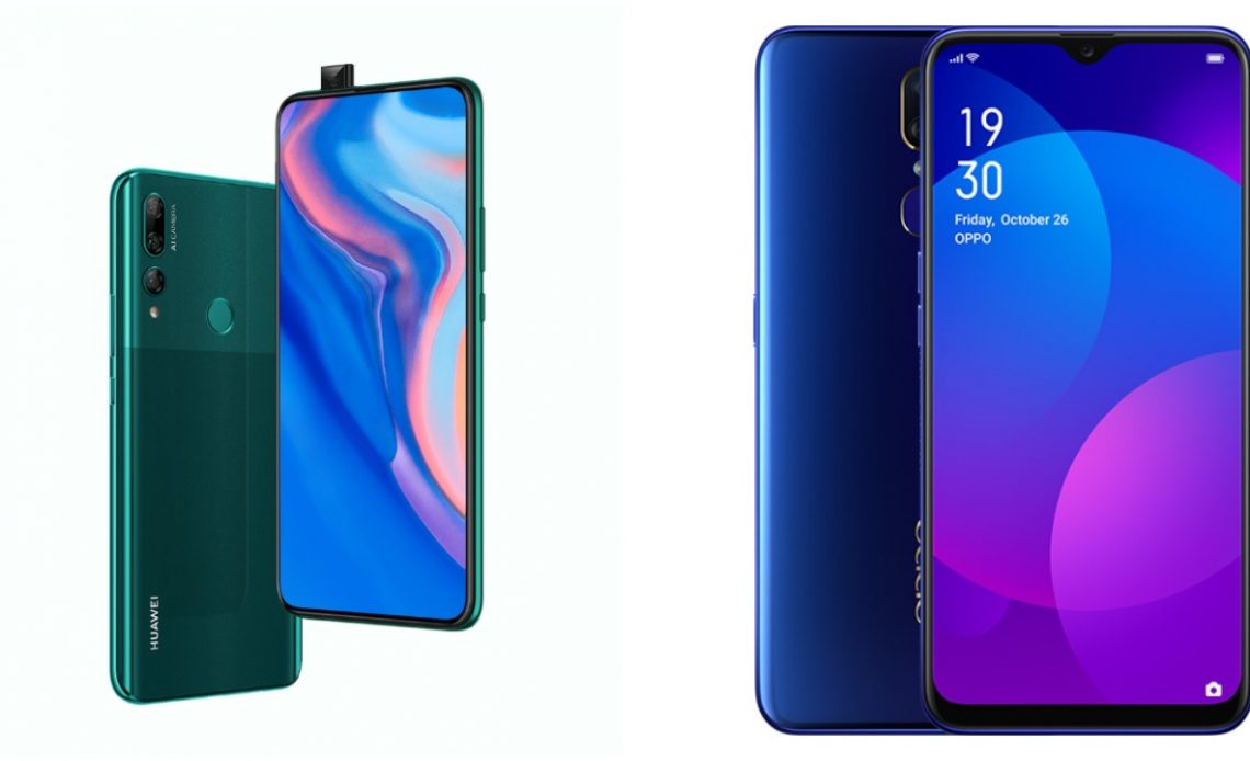 Huawei y9 prime 2019 oppo f11