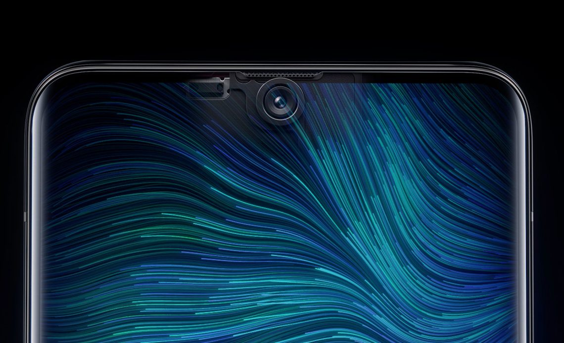 Under-display camera by Oppo