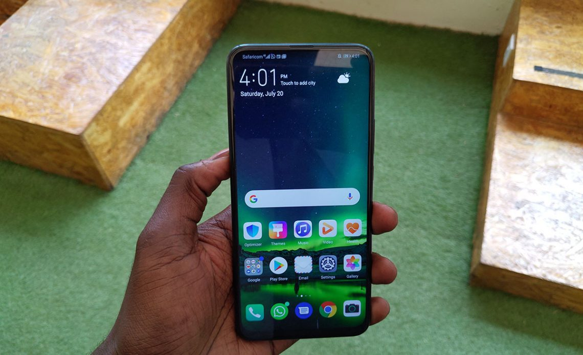 Huawei Y9 Prime 2019 display