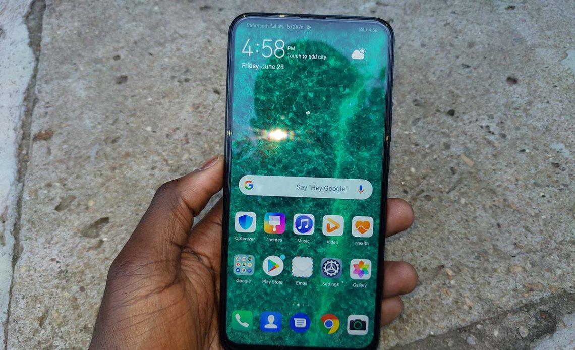 Huawei y9 prime 2019 display