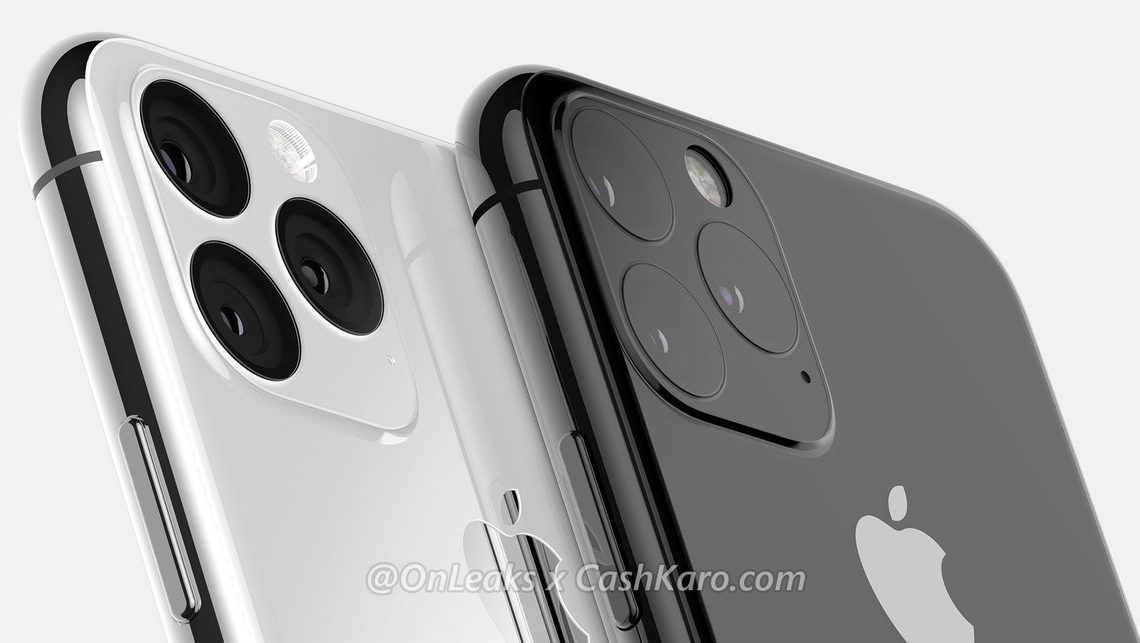 iPhone 11 3D renders