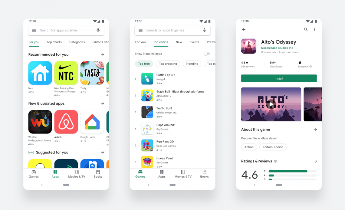 Google-playstore-new-material-design.