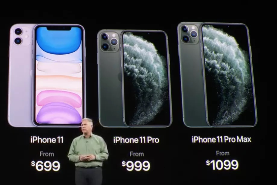 iPhone 11 series launch