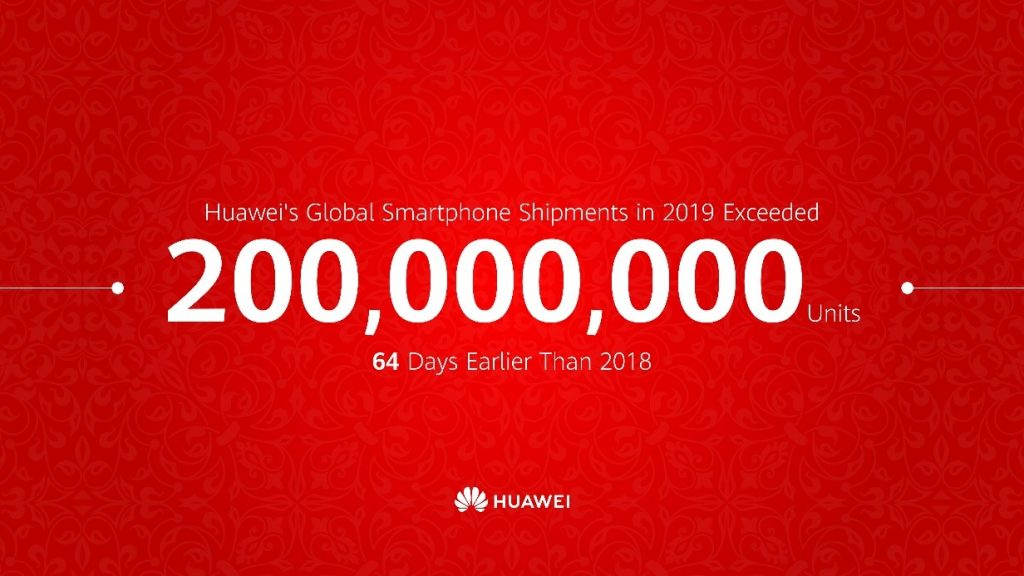 Huawei sales 2019