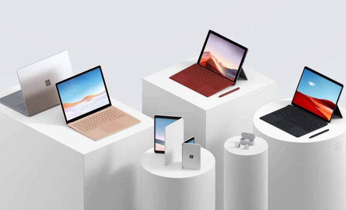Microsoft surface devices 2019