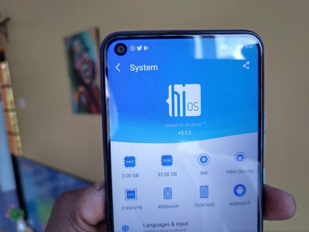 Tecno Camon 12 Air specs