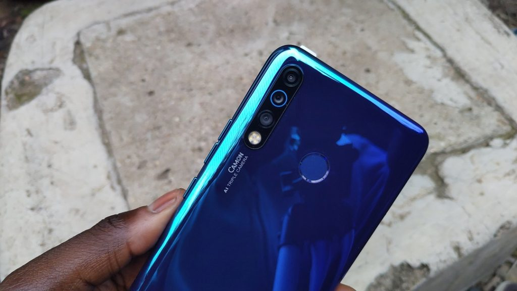Tecno camon 12 air camera
