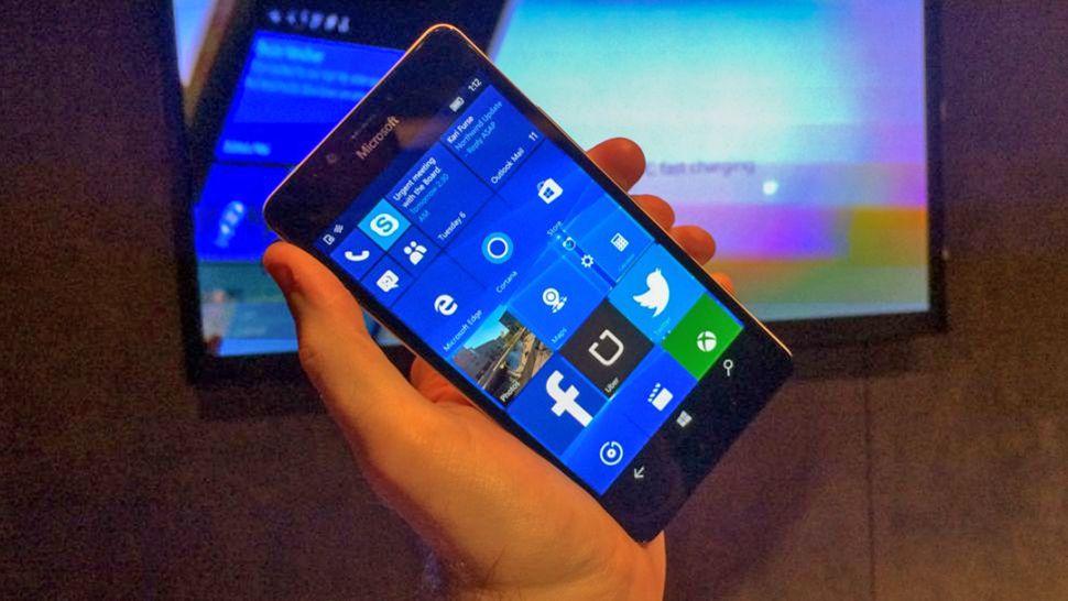 Microsoft Windows 10 Mobile phone