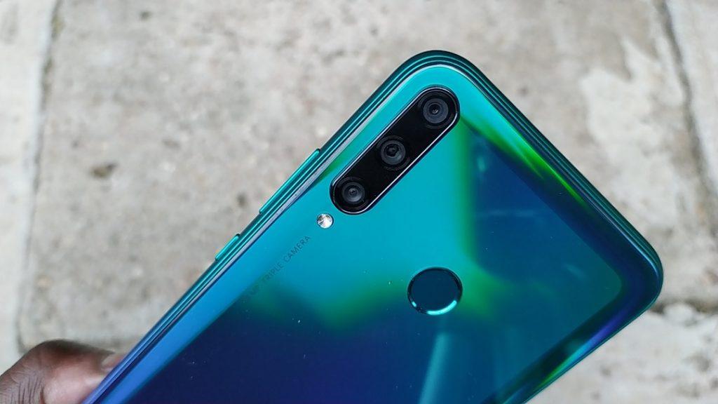 Huawei Y7p camera