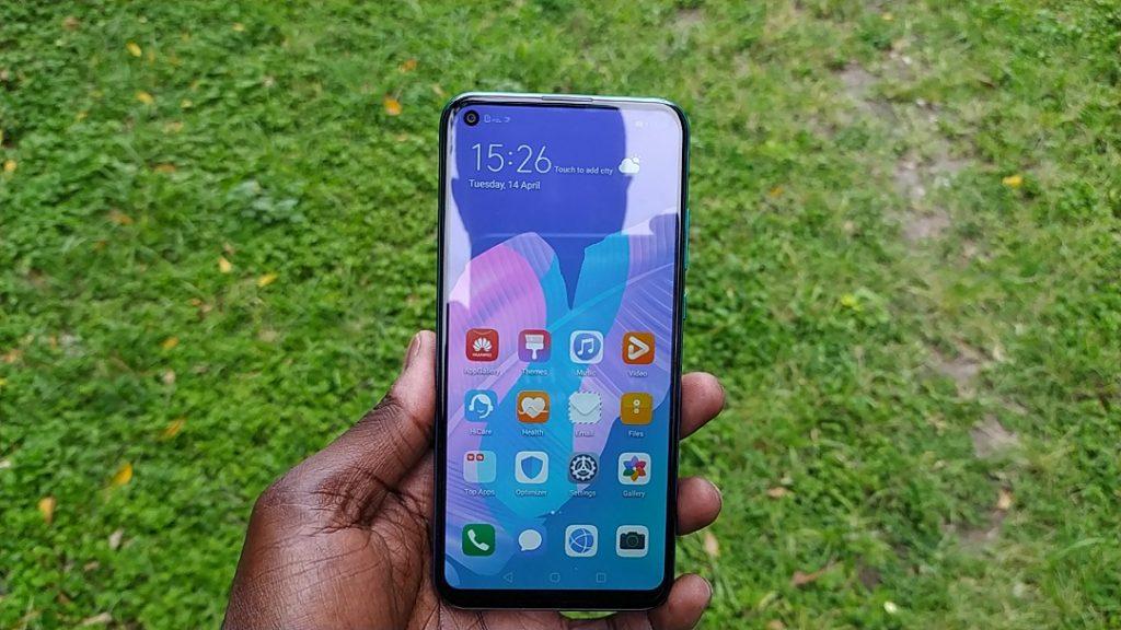Huawei Y7p display
