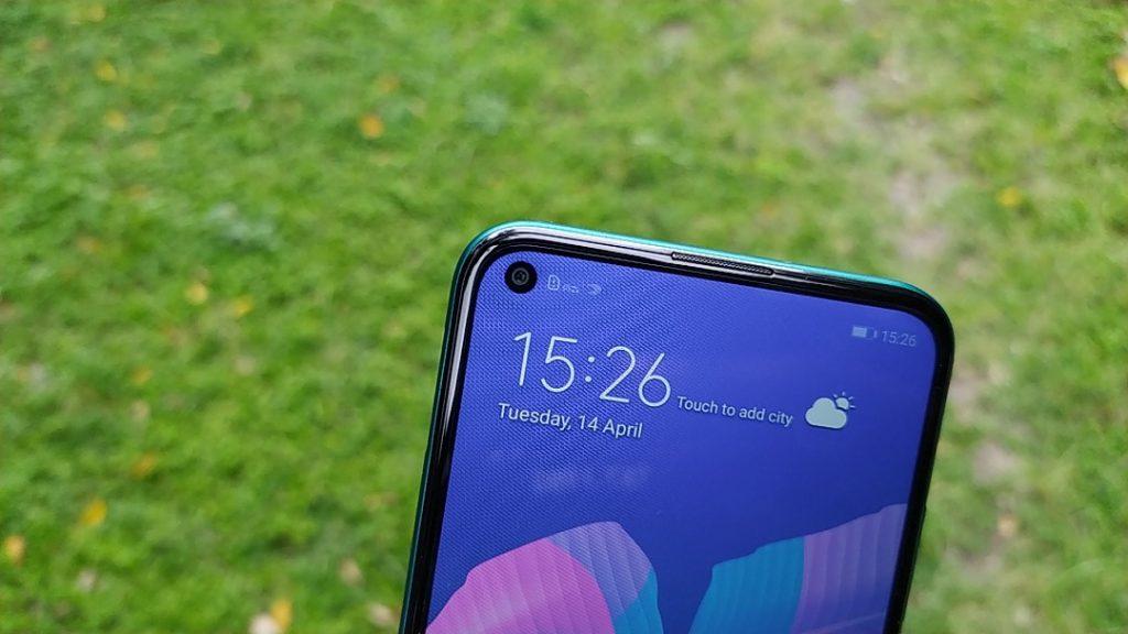 Huawei Y7p selfie