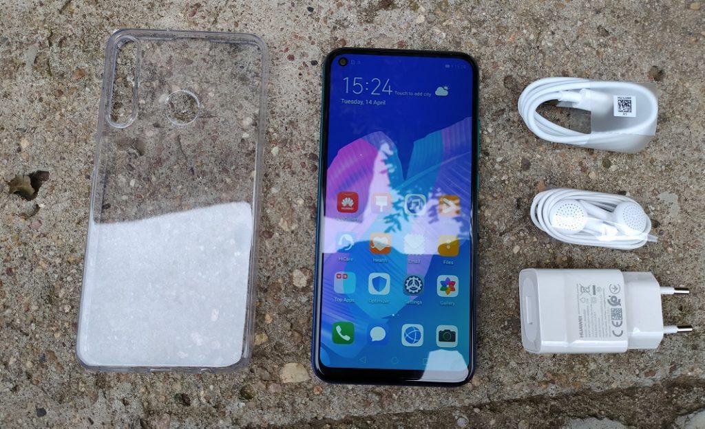 Huawei Y7p unboxed
