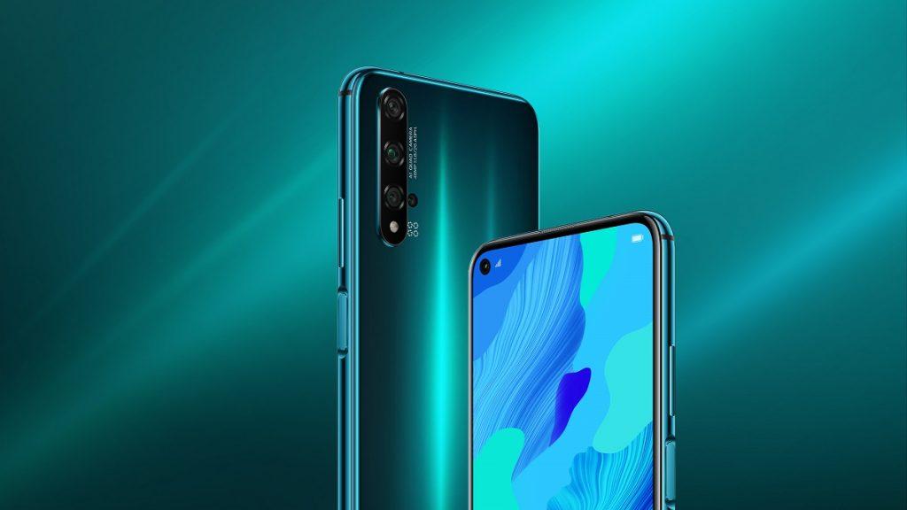 Huawei Nova 5T green