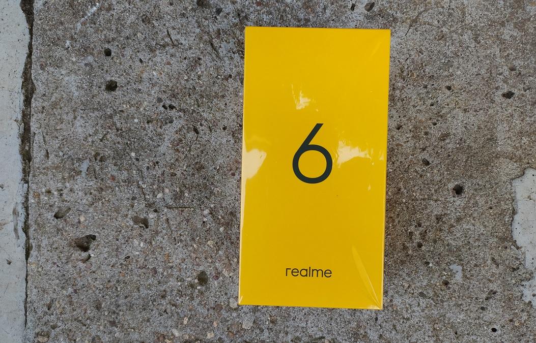 realme 6 box