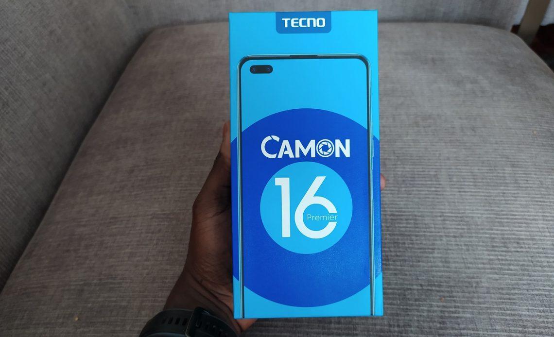 Tecno CAMON 16 premier box