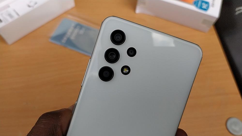 Samsung Galaxy A32 cameras