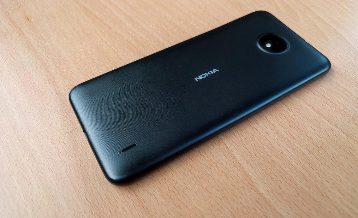 Nokia C10 back